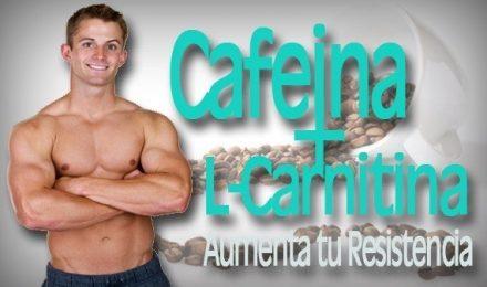La Cafeína combinado con L-Carnitina aumenta la resistencia en Competidores
