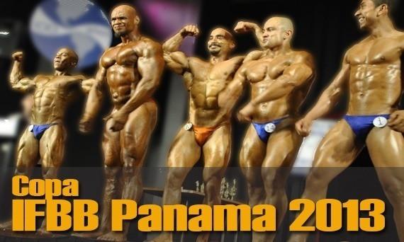Resultados Copa IFBB Panama 2013
