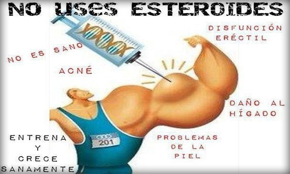 Efectos secundarios de los esteroides anabólico-androgénicos