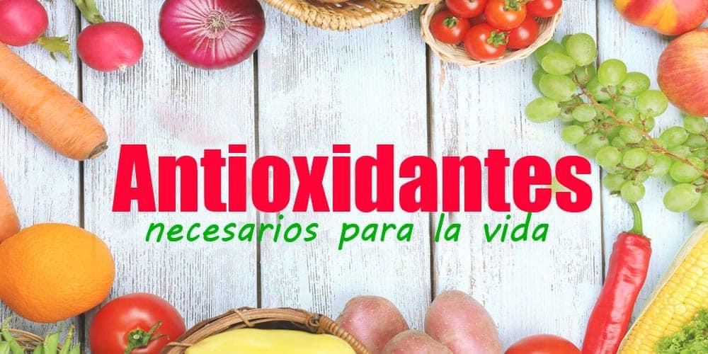 Antioxidantes, necesarios para la vida!