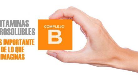 Vitaminas hidrosolubles. El complejo B es más importante de lo que imaginas.