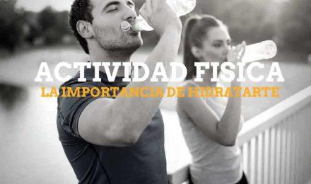 Actividad física, deporte y rendimiento por hidratación