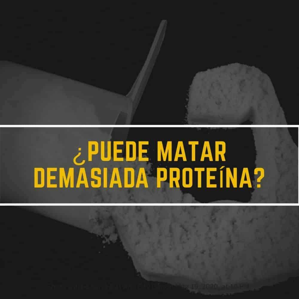 Te puede matar demasiada proteína?