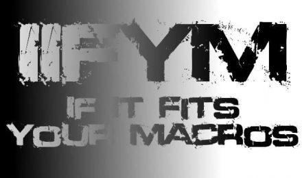 ¡It if FIT you'r MACROS! - DIETA IIFYM