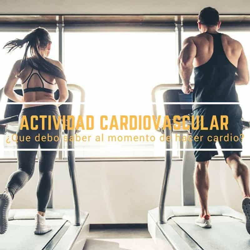 Cardio, intensidad y medicion de frecuencia cardíaca