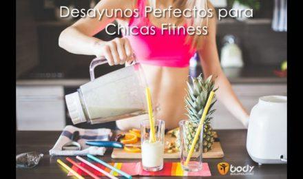 5 DESAYUNOS PERFECTOS PARA CHICAS FITNESS